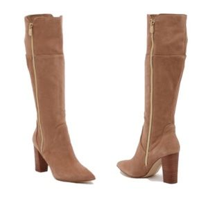 Adrienne Vittadini Neeve Knee-High Heeled Boots